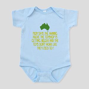 Australian slang Infant Bodysuit