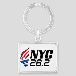 NYC Marathon Keychains