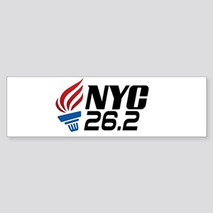 NYC Marathon Bumper Sticker