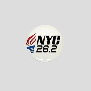 NYC Marathon Mini Button