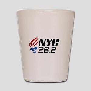 NYC Marathon Shot Glass