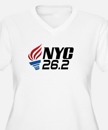 NYC Marathon Plus Size T-Shirt