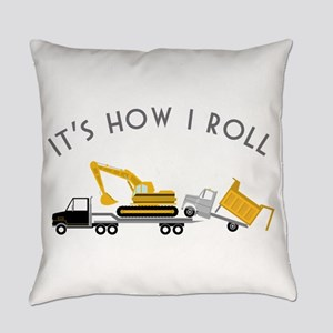 It's How I Roll Everyday Pillow