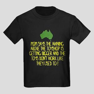 Australian slang Kids Dark T-Shirt