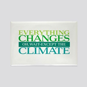Everything Changes Except the Climate Magnets