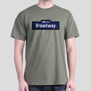 Broadway, New York City Dark T-Shirt