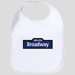 Broadway, New York City Bib