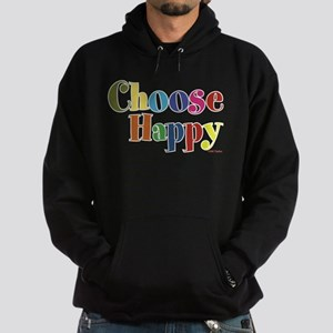Choose Happy 01 Hoodie (dark)