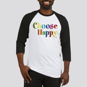 Choose Happy 01 Baseball Jersey