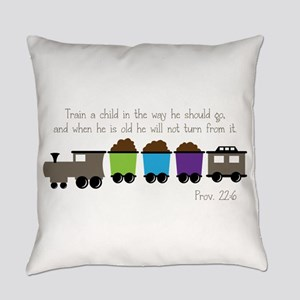 Train A Child Everyday Pillow