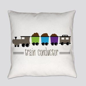 =Train Conductor= Everyday Pillow