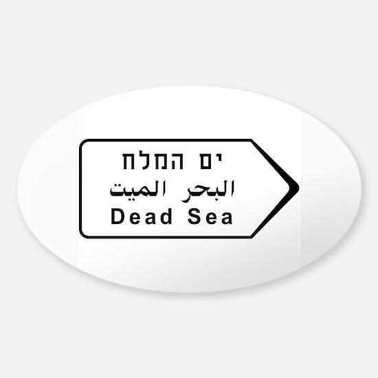 Dead Sea, Israel Sticker (Oval)