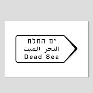 Dead Sea, Israel Postcards (Package of 8)
