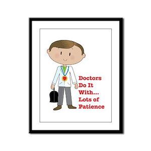 Doctors Do It.... Framed Panel Print