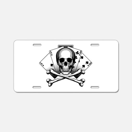 Dead Mans Hand: Aces And Aluminum License Plate