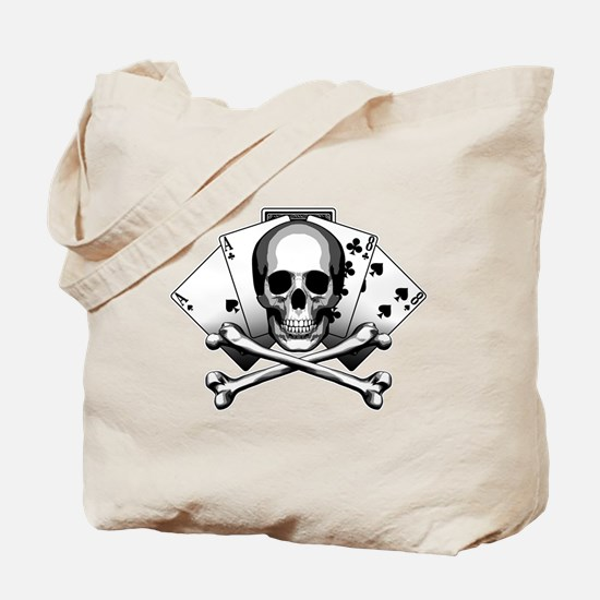 Dead Mans Hand: Aces and Eights Tote Bag