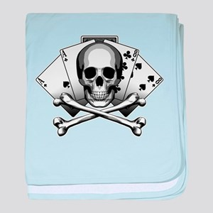 Dead Mans Hand: Aces and Eights baby blanket