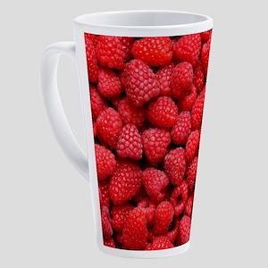 RASPBERRIES 2 17 oz Latte Mug