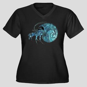Hermit Crab Plus Size T-Shirt