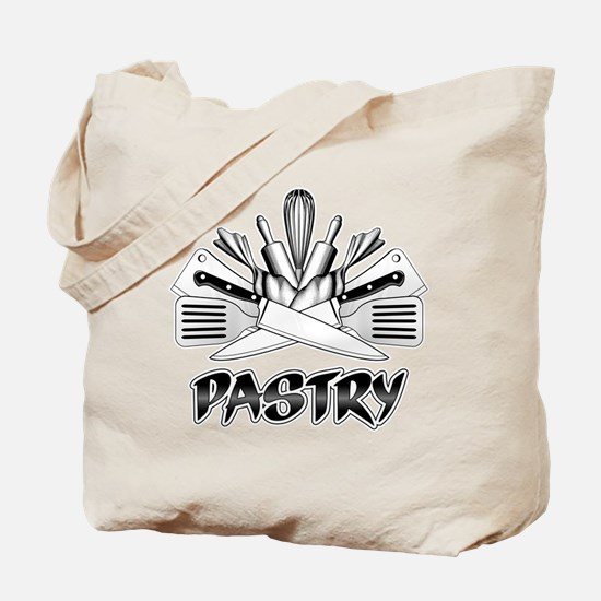 Pastry Logo Tote Bag