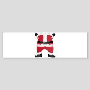 funny christmas santa claus Bumper Sticker