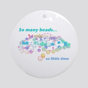 So Many Beads Ornament (Round)