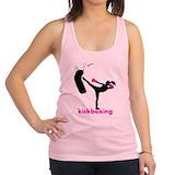Kickboxing Womens Racerback Tanktop