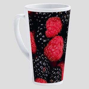 RASPBERRIES 1 17 oz Latte Mug