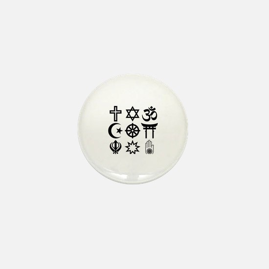 Funny Afterlife Mini Button
