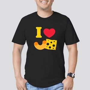 I Heart Mac And Cheese Men's Fitted T-Shirt (dark)