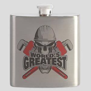 World's Greatest Plumber Flask
