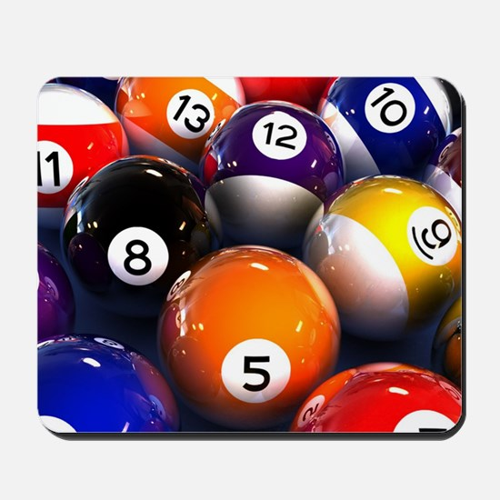 Billiard Balls Mousepad