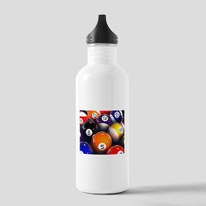 Billiard Balls Sports Water Bottle