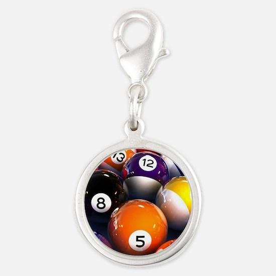 Billiard Balls Charms