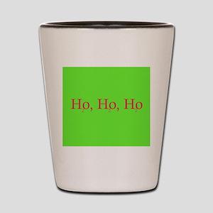 Ho Ho Ho Chemistry style Shot Glass
