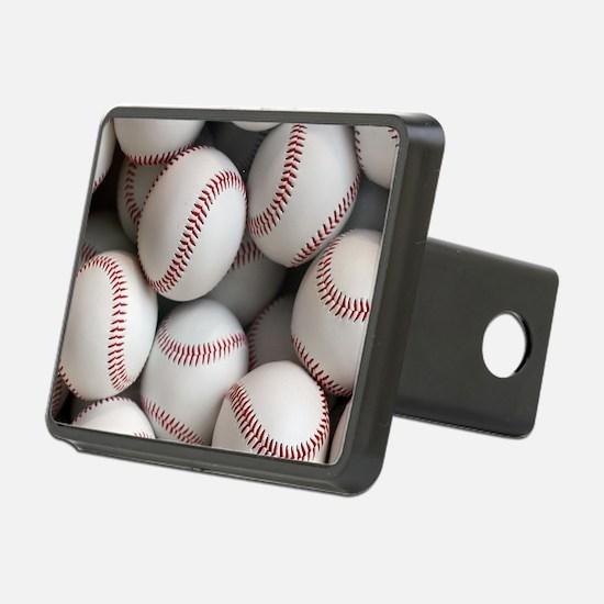 Baseball Balls Hitch Cover