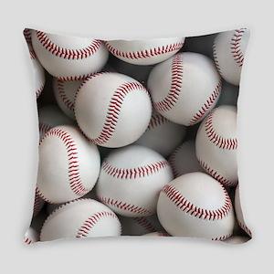 Baseball Balls Everyday Pillow