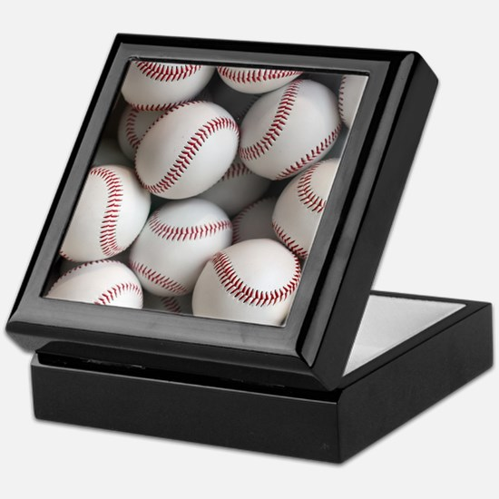 Baseball Balls Keepsake Box