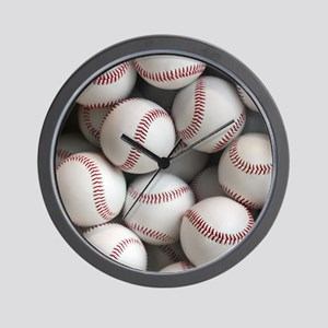 Baseball Balls Wall Clock