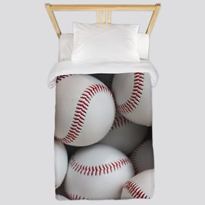 Baseball Balls Twin Duvet