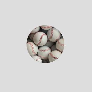 Baseball Balls Mini Button