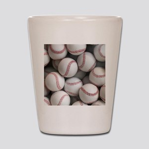 Baseball Balls Shot Glass
