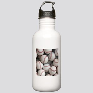 Baseball Balls Sports Water Bottle