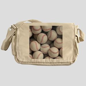 Baseball Balls Messenger Bag