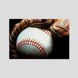 Baseball Ball And Mitt Magnets
