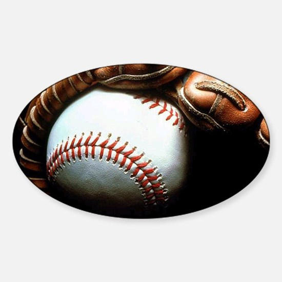 Baseball Ball And Mitt Decal