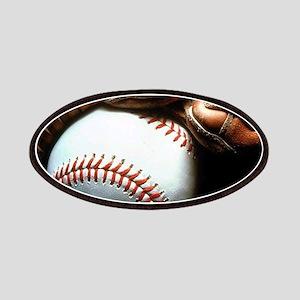 Baseball Ball And Mitt Patch