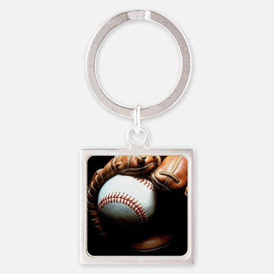 Baseball Ball And Mitt Keychains
