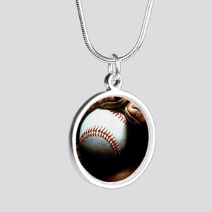 Baseball Ball And Mitt Necklaces
