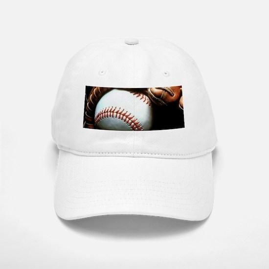 Baseball Ball And Mitt Baseball Baseball Cap